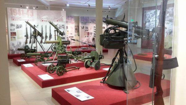 Музей отечественной военной истории в д. Падиково
