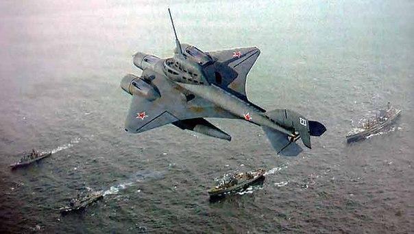 Советский проект летающей подводной лодки