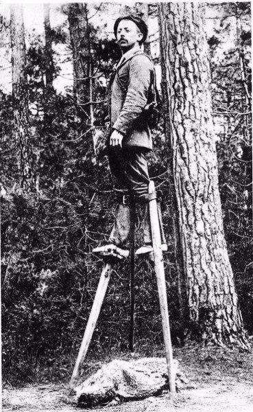 Сильвен Дорнон — Путешествие из Парижа в Москву на ходулях, 1891 год