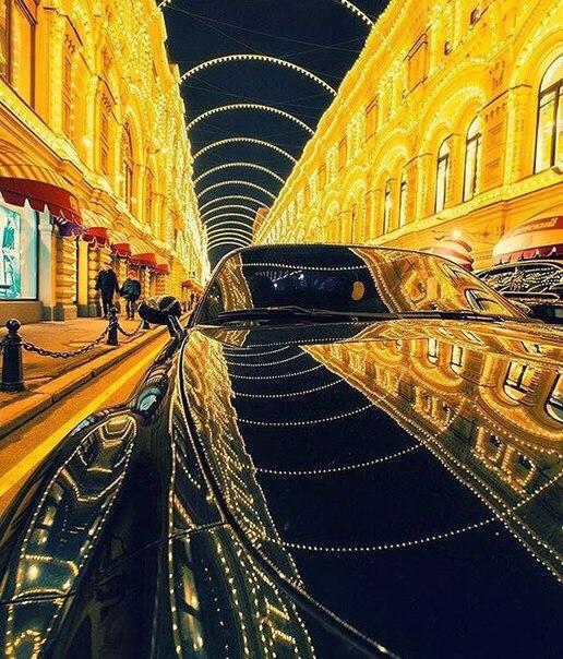 Где покататься по ночной Москве