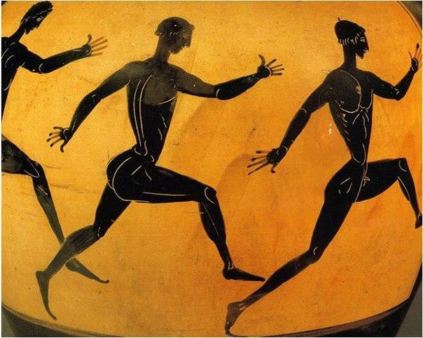 Забытый стиль бега древних греков
