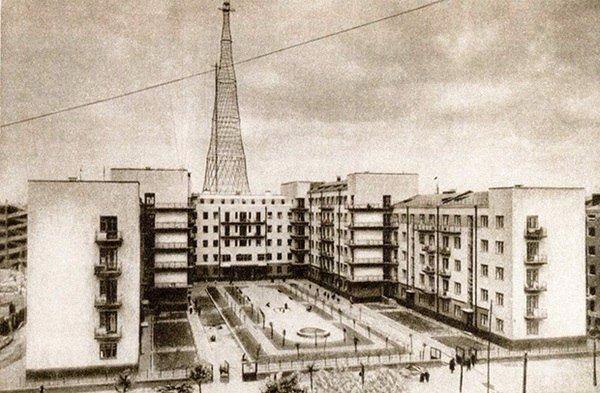 Шаболовский телецентр, 1931 год