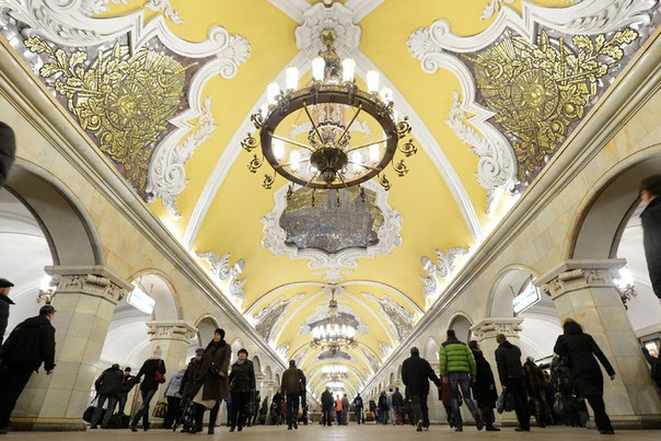 Тринадцать интересных фактов о Московском метрополитене