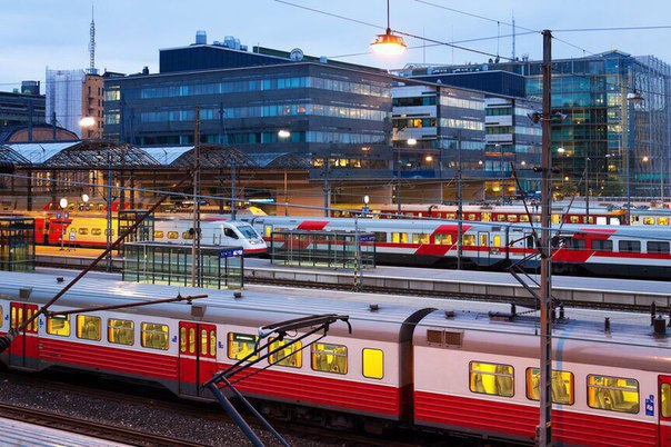 Семь стран, в которые можно уехать из Москвы на поезде
