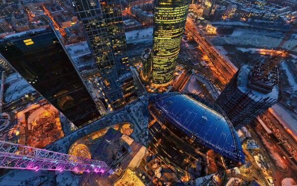 Где посмотреть на Москву с высоты птичьего полета